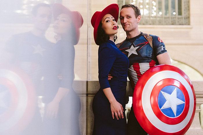 Jackie Nguyen e Nate Huntley