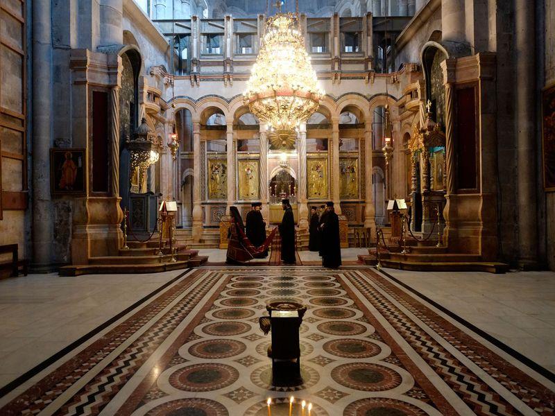 Altar no Santo Sepulcro