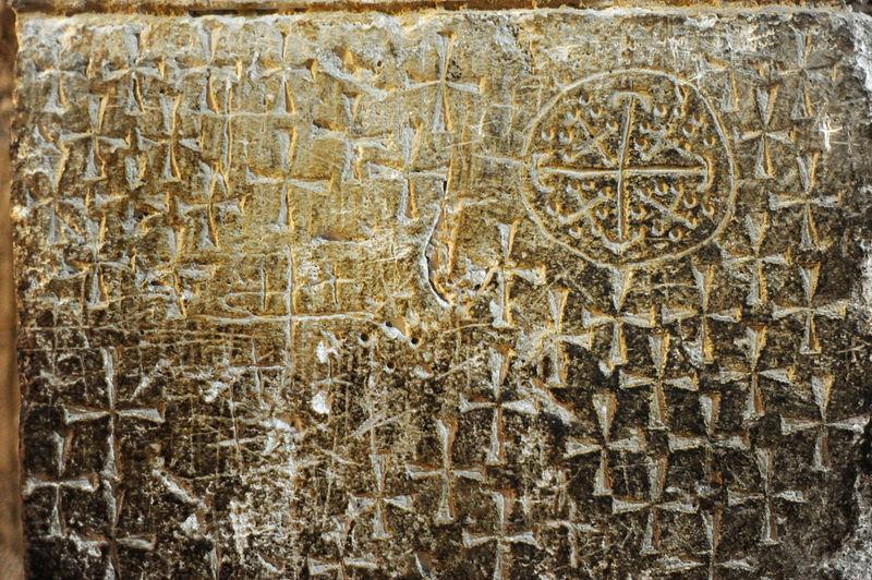 Grafites dos cruzados