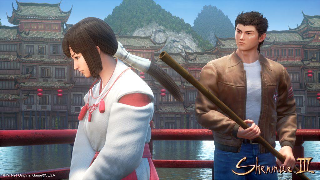 Novas telas de Shenmue 3 ainda mostram rostos sem expressões