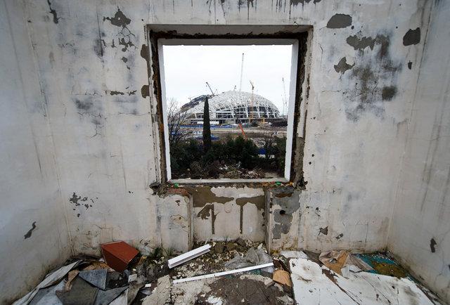 Estádio em Sochi