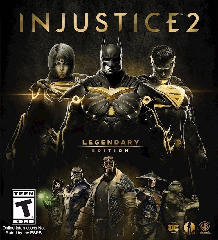 Resultado de imagem para Injustice 2 pc capa