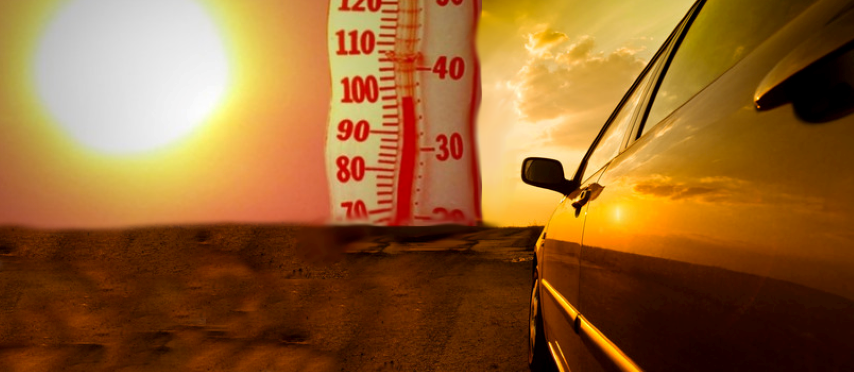 carro e calor
