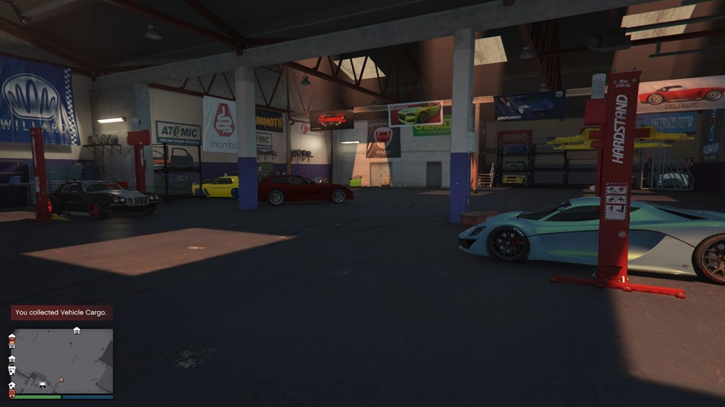Vehicle warehouse gta online