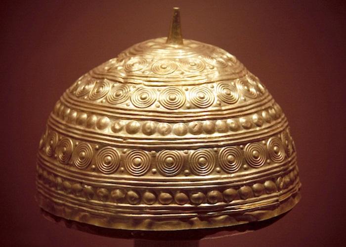 Capacete da Idade do Bronze