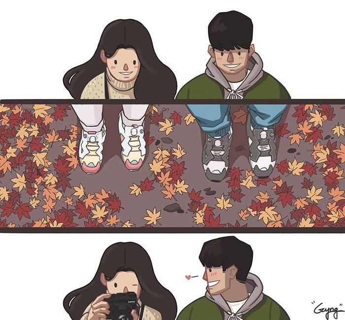 ilustrações sobre amor