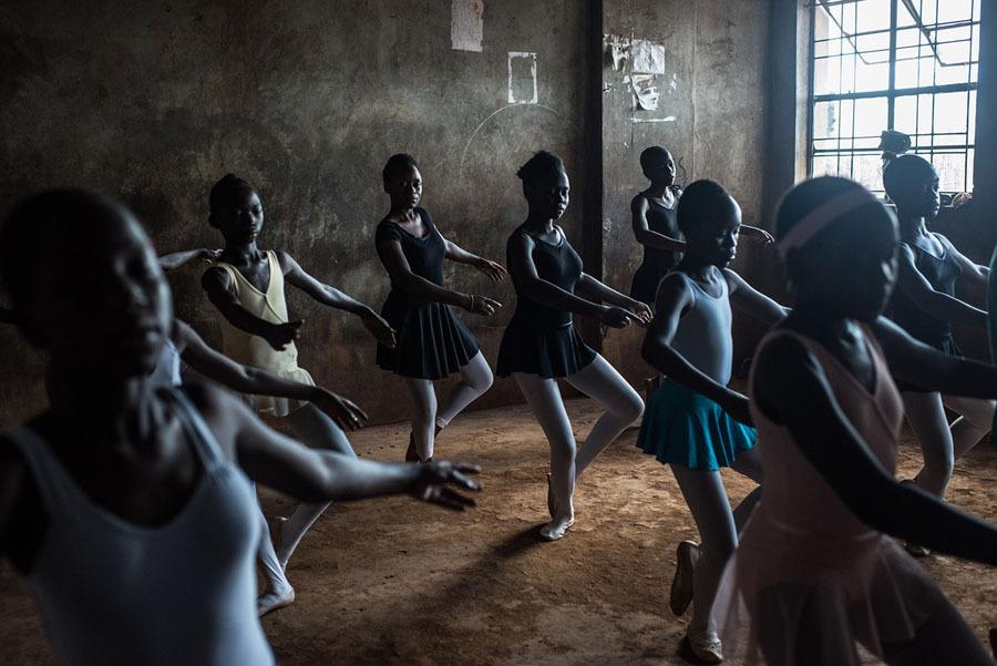 Bailarinas em Nairóbi