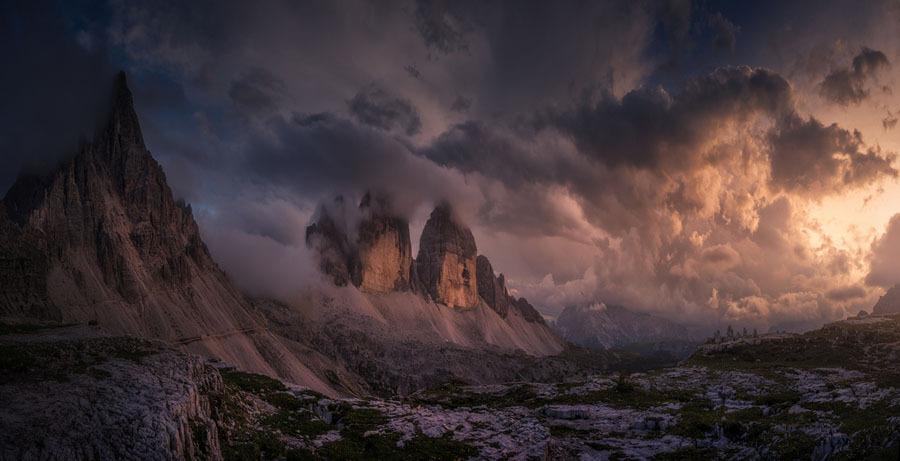 Tormenta nos Alpes