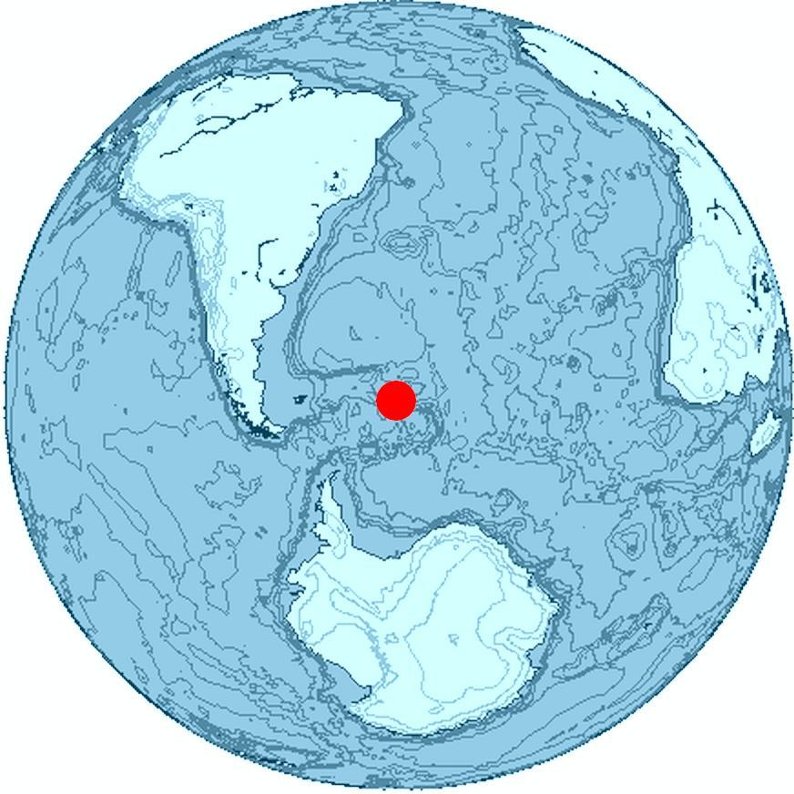 Ilha no sul do mundo