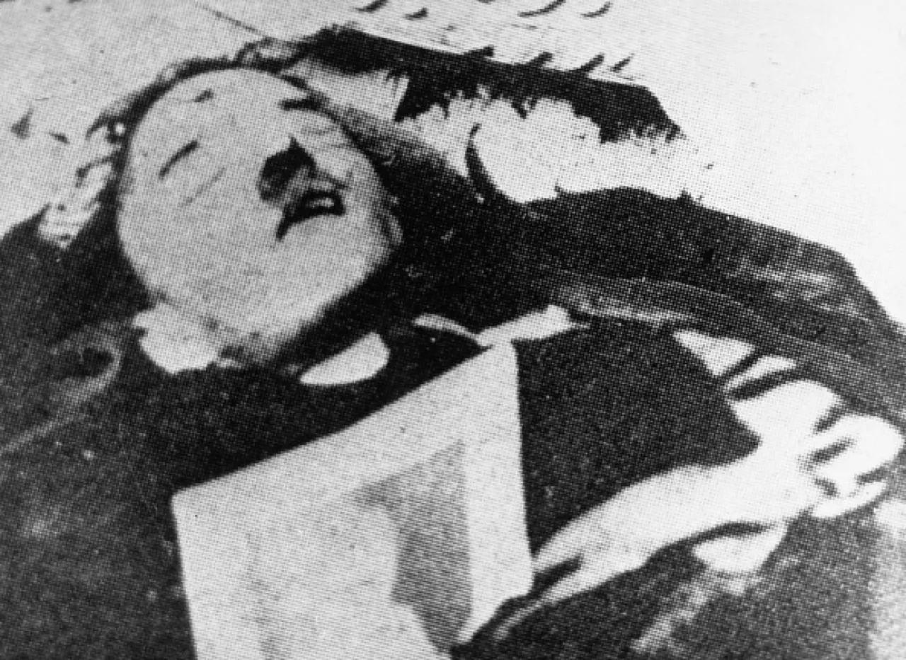 Suposto corpo de Hitler