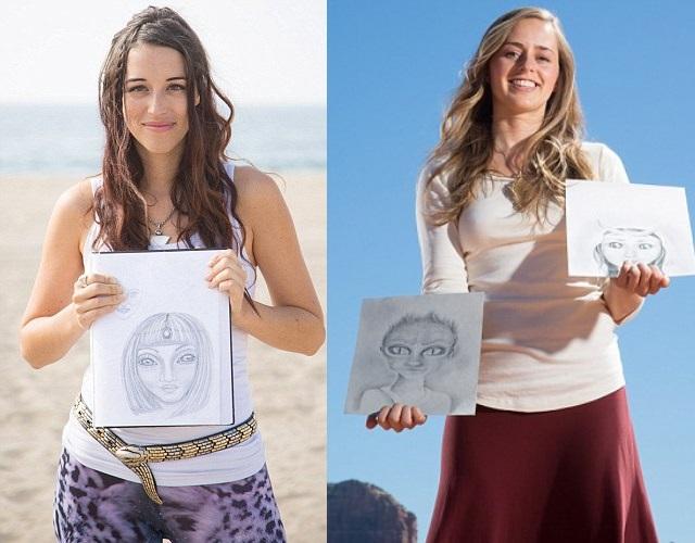 Bridget Nielson e Aluna Verse
