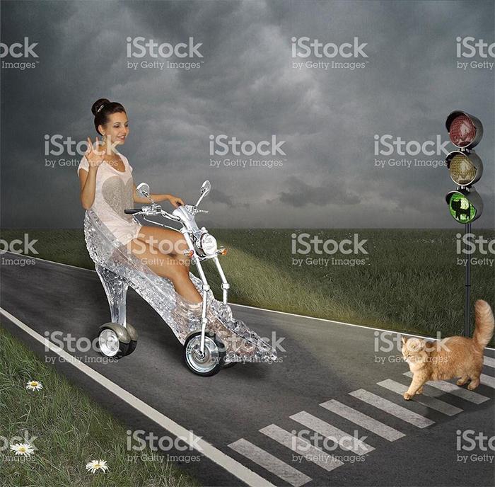 fotos bizarras bancos imagem