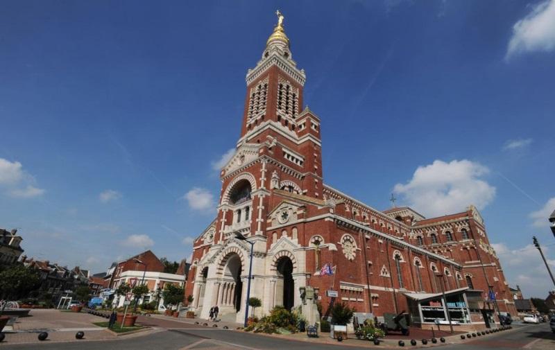 La Basilique em Albert