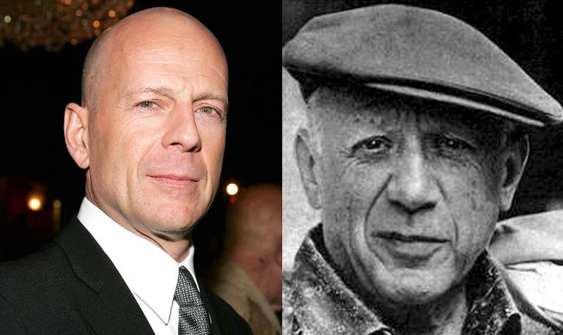 Bruce Willis e Picasso