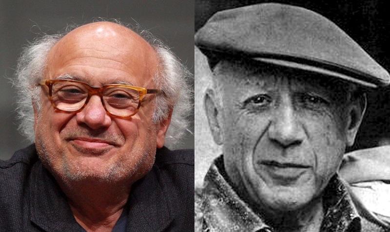 Danny DeVito e Picasso