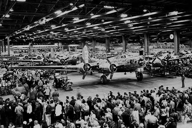 Fábrica da Boeing