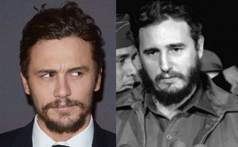 James Franco e Fidel Castro