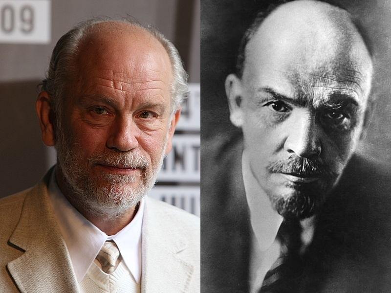John Malkovich e Lenin