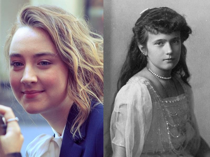 Saoirse Ronan e Anastasia