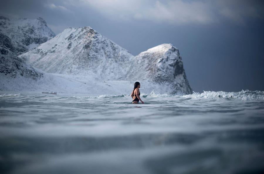 Praia norueguesa