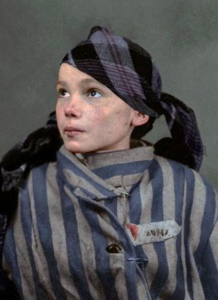 Prisioneira de Auschwitz