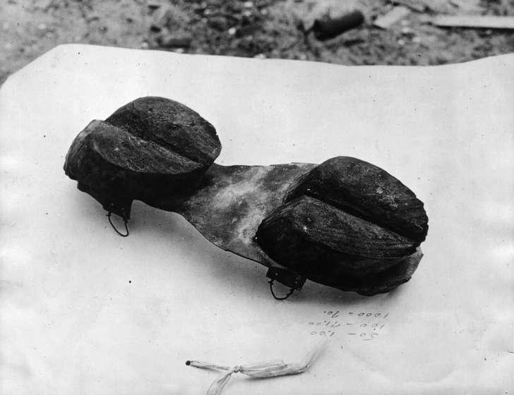 Sapatos inusitados