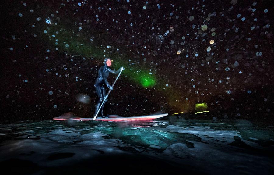 Surfe na Noruega