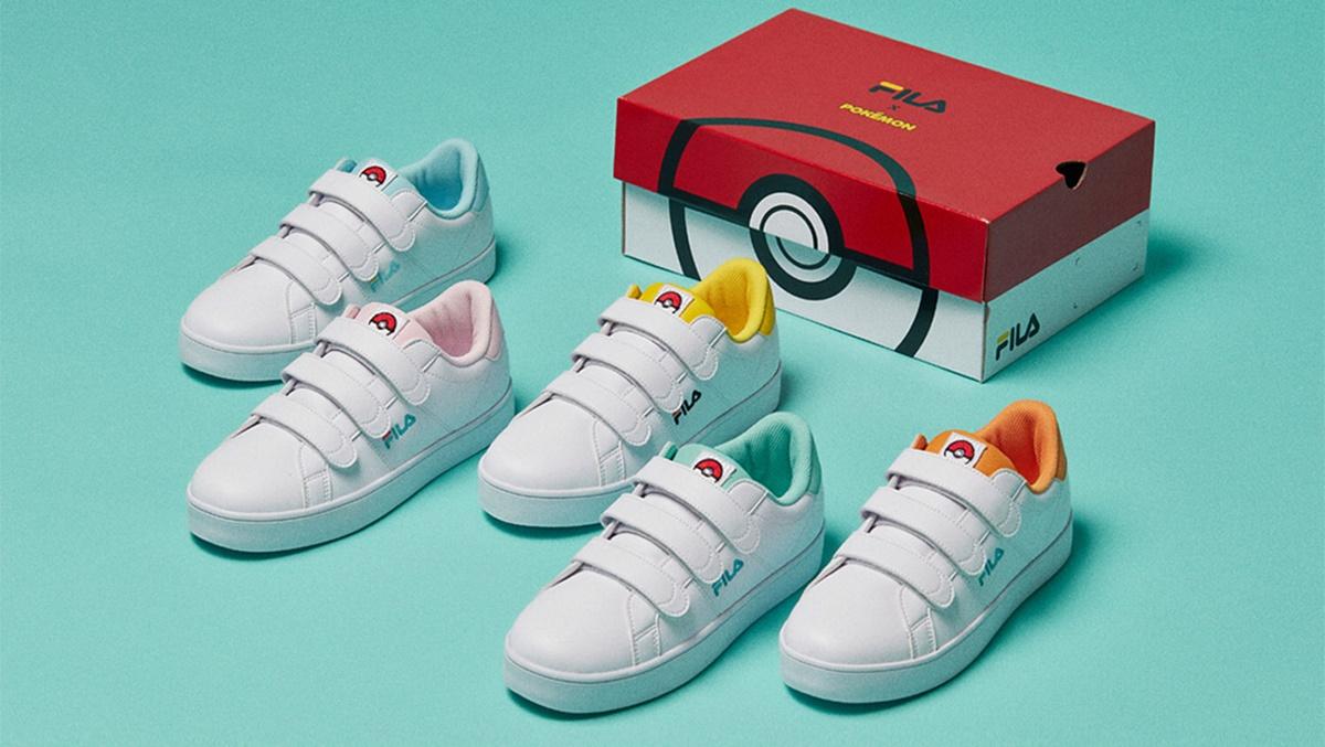Fila lança tênis maravilhosos de Pokémon