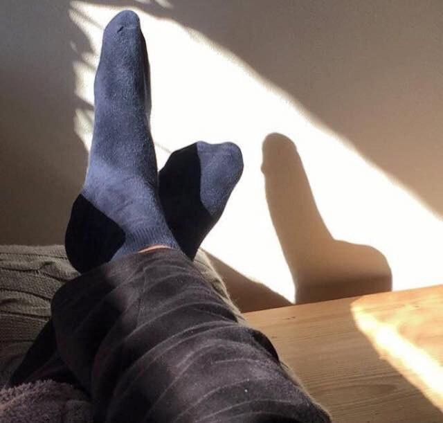 Sombra de pé