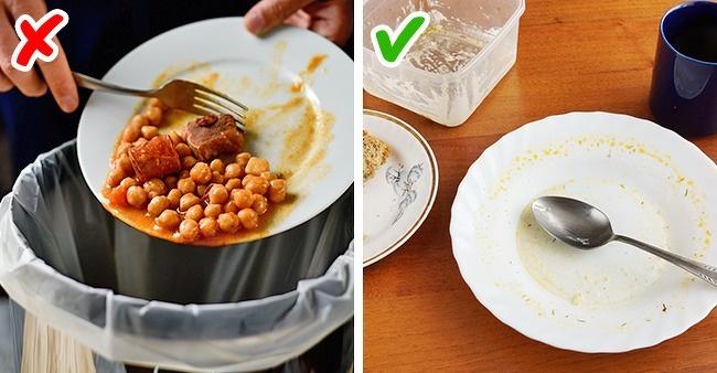 resto de comida