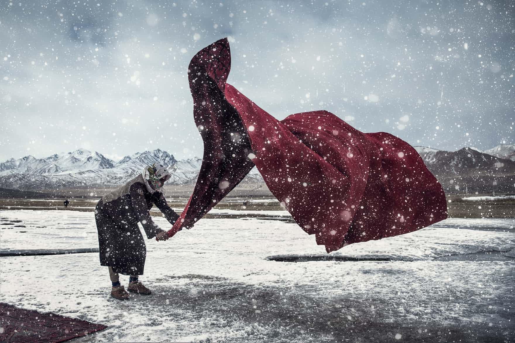 Senhora na neve