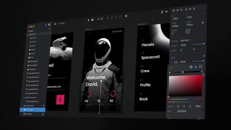 InVision - Imagem 1 do software