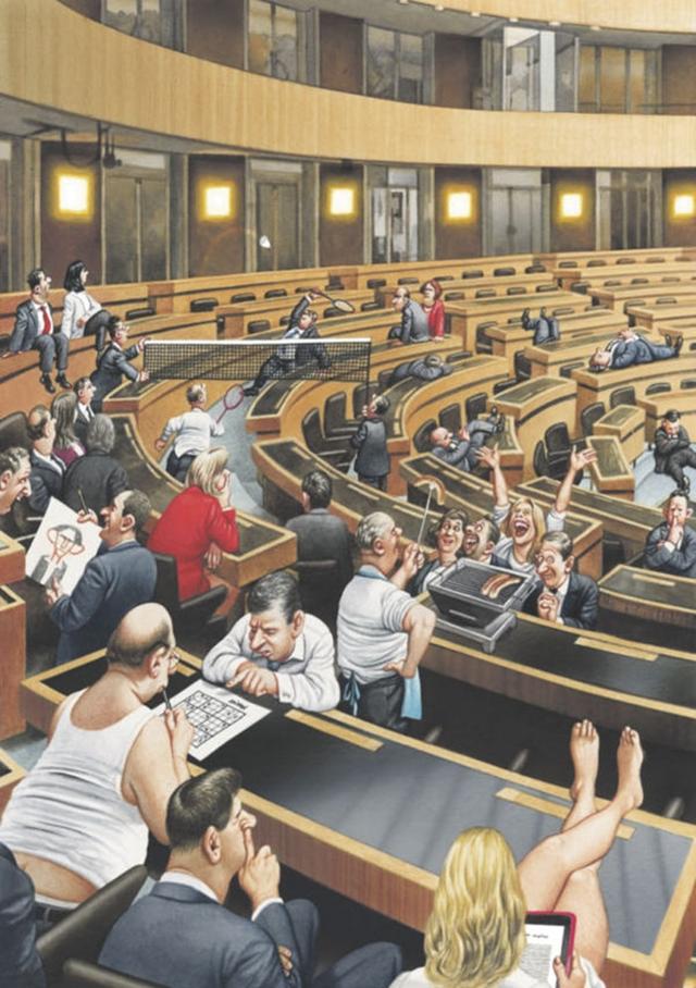 chamado parlamento