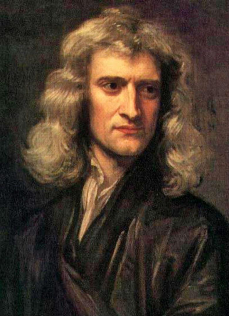 Retrato de Sir Isaac Newton