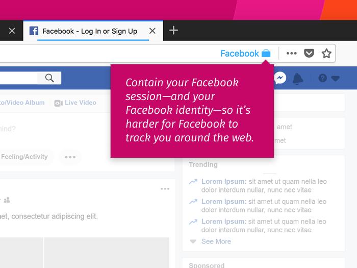 Facebook Container
