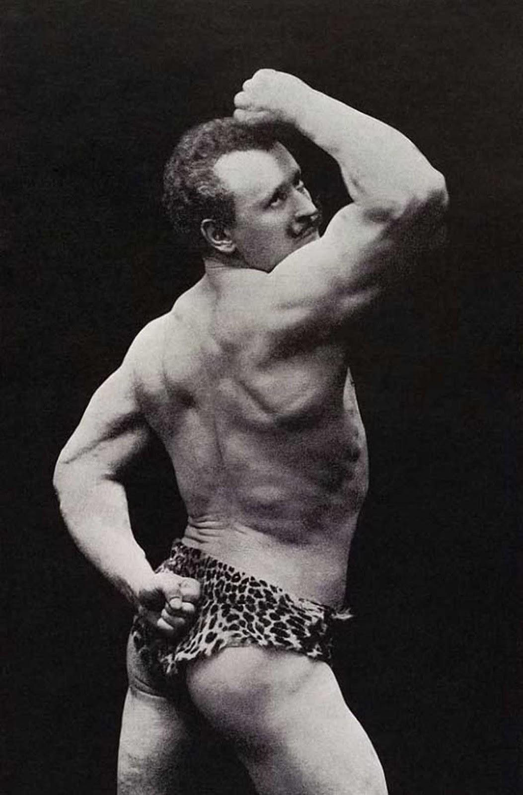 Demonstração de músculos