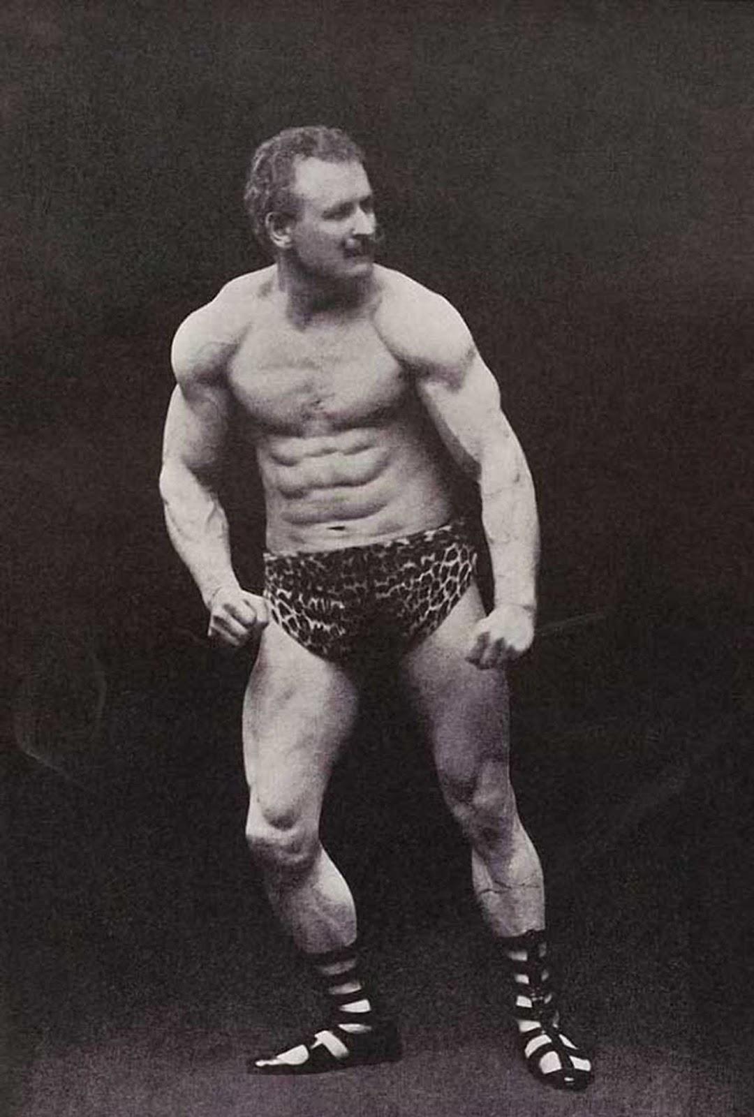 Exibição de músculos