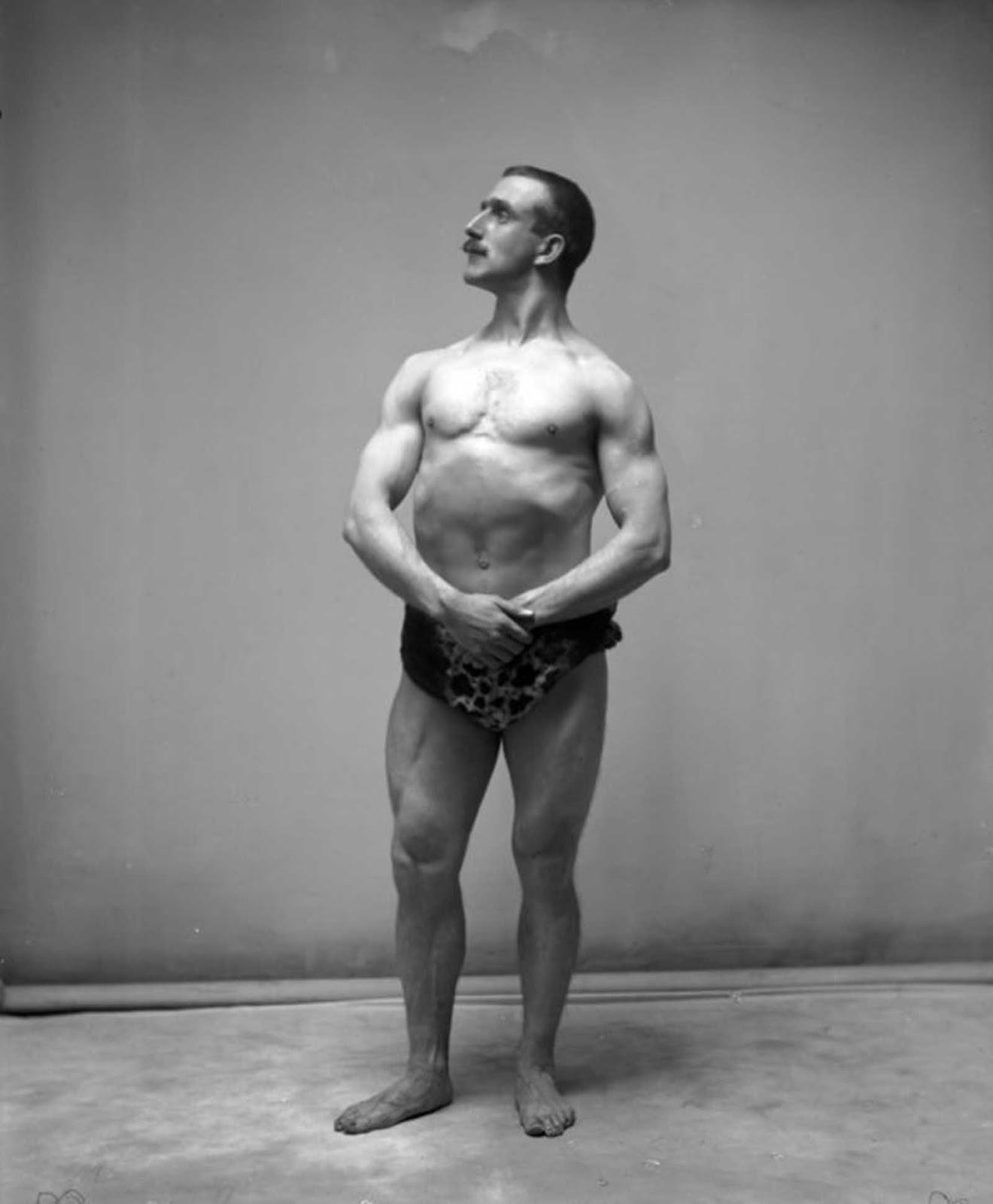Mostrando músculos