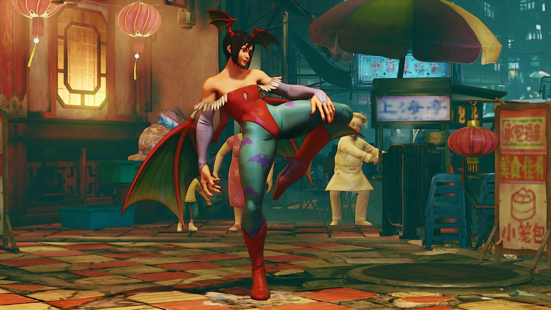 Street Fighter V vai ganhar novas roupas baseadas em Darkstalkers