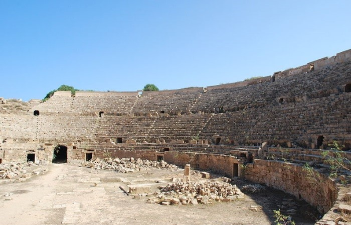 Arena de Leptis Magna, Líbia