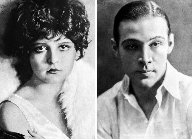 Clara Bow e Rudolph Valentino
