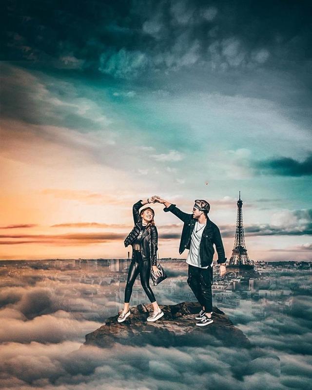 Dançando em Paris