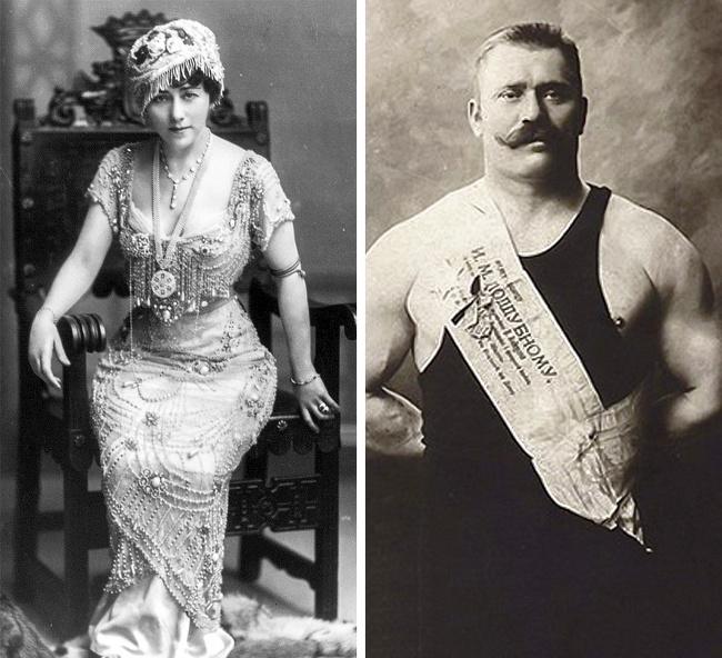 Edna Wallace e Ivan Poddubny