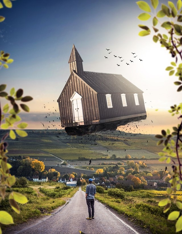 Igreja voadora
