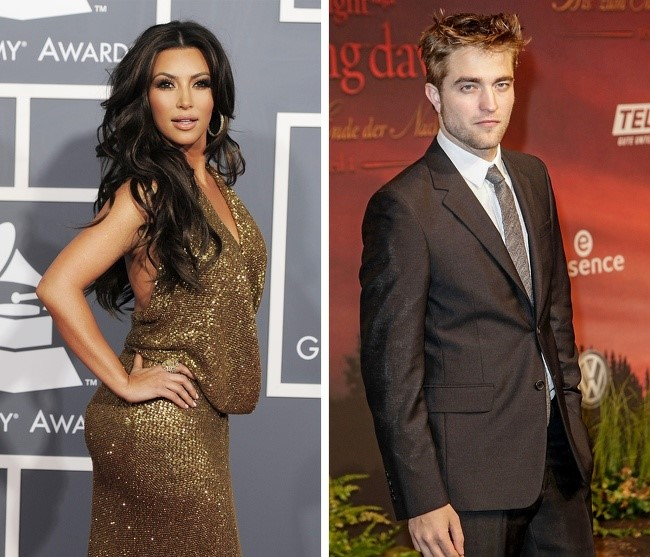 Kardashian e Robert Pattinson