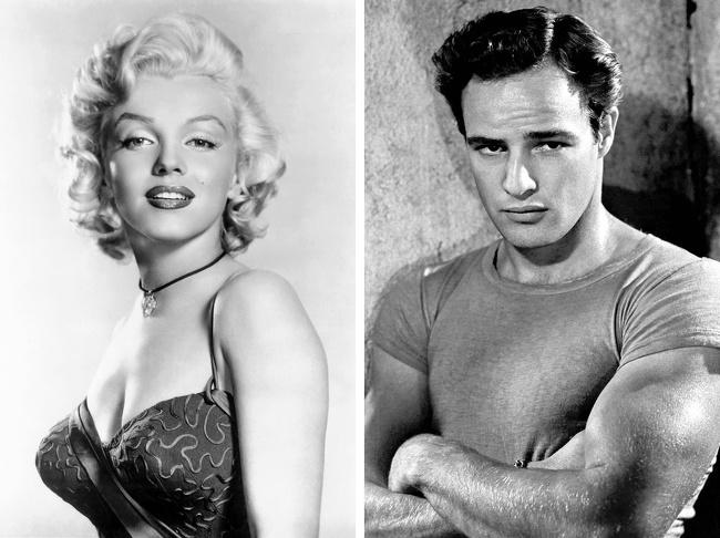 Marilyn Monroe e Marlon Brando