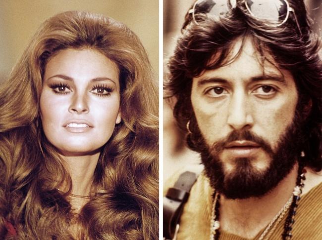 Raquel Welch e Al Pacino