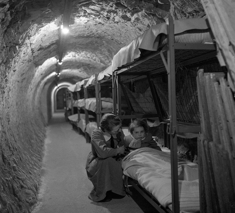 Abrigo durante a guerra