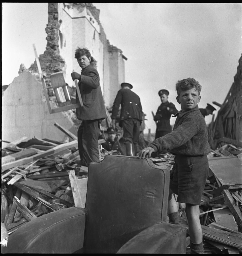 Destruição na Inglaterra