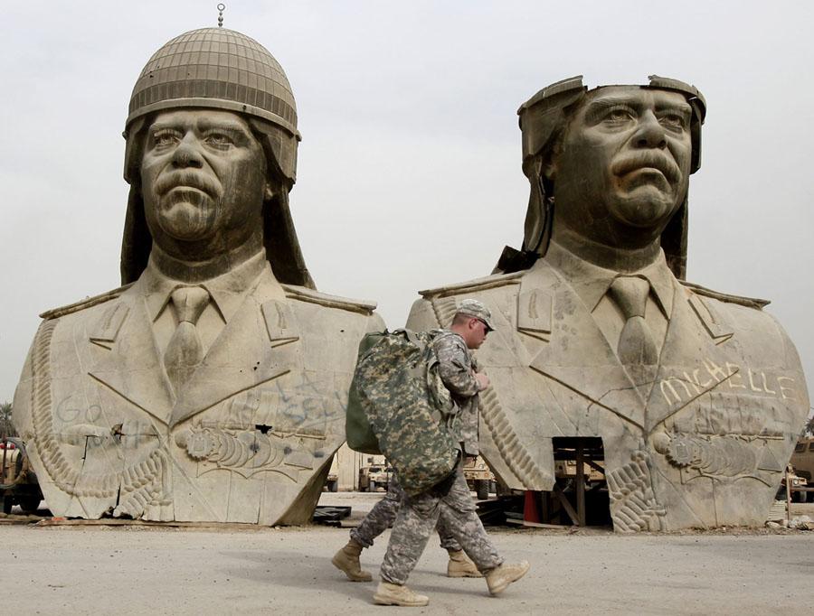 Estátuas de Saddam